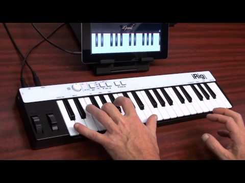 IK Multimedia IRig KEYS Mini Keyboard Controller Demo | Full Compass