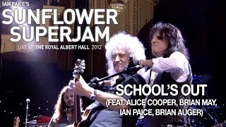 "5. Ian Paice's Sunflower Superjam 2012 ""School's Out (live)"" (feat. Alice Cooper, Brian May, Ian Paice)"