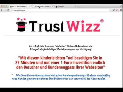 TrustWizz kostenlose Werbeschaltungen und Traffic generieren – REVIEW