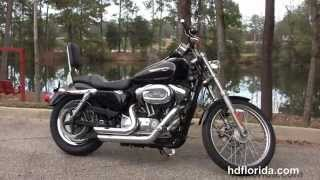 5. Used 2008 Harley Davidson Sportster 1200 Custom Motorcycles for sale
