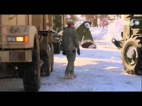 New York sẵn sàng đối phó với khả năng ngập lụt do tuyết tan