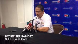 PBA: Fernandez on Talk N' Text's win over Meralco