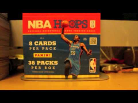 Box Review: 12-13 Panini NBA Hoops Basketball (Episode 2)