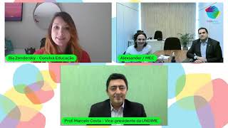 Videoconferência sobre o Novo ciclo do Plano de Ações Articuladas e Plataforma +PNE