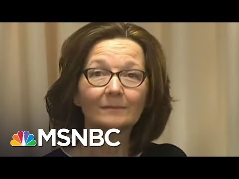 Donald Trump's Pick For CIA Director Gina Haspel Reportedly Tortured People | Velshi & Ruhle | MSNBC