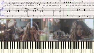 Экспонат - гр. Ленинград (Ноты для фортепиано) (piano cover)