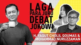 "Video Denny Siregar, Budiman Sudjatmiko & Dini Purwono - Seruput Kopi ""Laga Para Juru Debat Jokowi"" MP3, 3GP, MP4, WEBM, AVI, FLV April 2019"