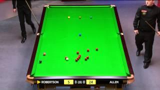 Snooker 2014 W.C. Robertson V Allen (1) [HD]