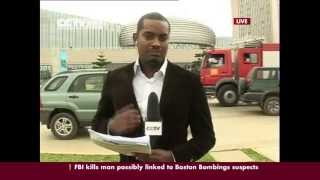 CCTV's Girum Chala Reports Live From AU Summit In Addis Ababa