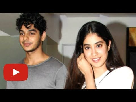 Ishaan Khattar Escorts Jhanvi Kapoor To Her Car |