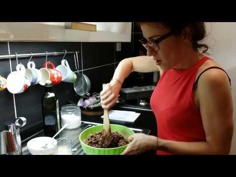 come utilizzare gli scarti dell'estrattore: plumcake cioccofibra