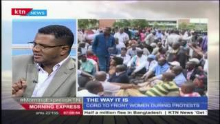 Hassan Omar says the protests have changed people's opinion about the current IEBC