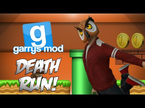 GMod Deathrun!  - SUPER MARIO BROTHERS FACEOFF! (Garrys Mod Funny Moments) (видео)