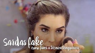 Fica a Dica – Sardas fakes: como fazer a técnica temporária?