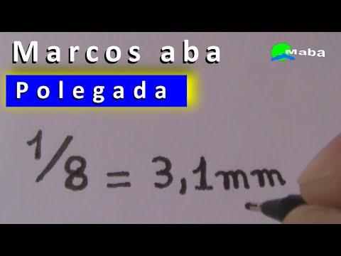 POLEGADA  -  como calcular
