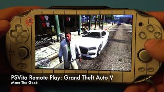 PSVita Remote Play: Grand Theft Auto V