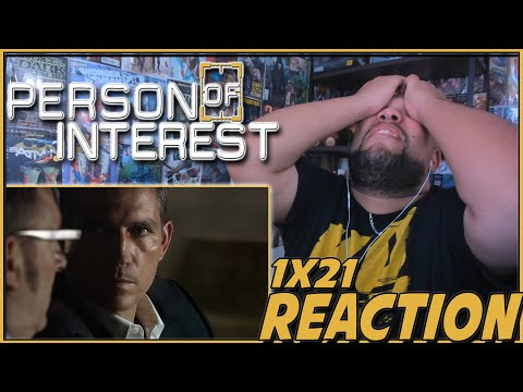 WHAT EXACTLY IS YOUR PLAN?   Person of Interest 1x21 REACTION   Season 1 Episode 21