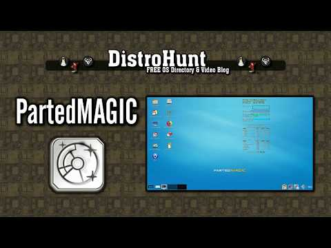 PartedMAGIC Overview 2018 11