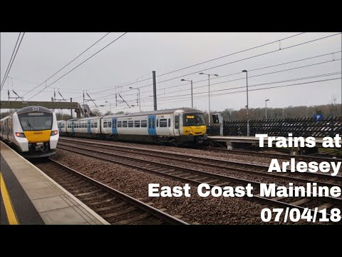 Trains at Arlesey, ECML | 07/04/18