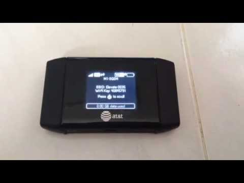 AT&T Sierra Wireless Mobile Hotspot 4G MiFi Router Aircard 754S
