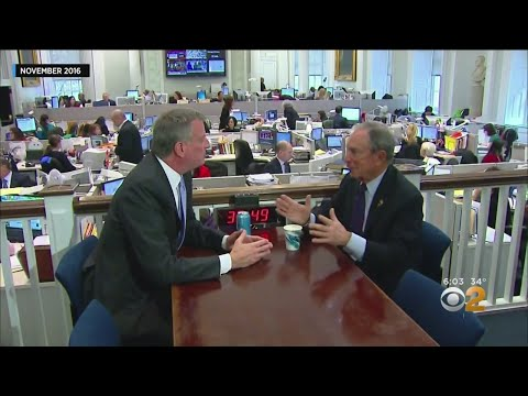 Is Mayor De Blasio Jealous Of Bloomberg's 2020 Run?