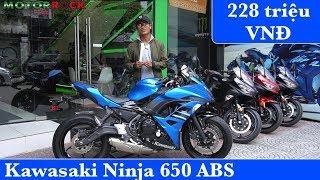 6. Kawasaki Ninja 650 ABS 2019 - Quà tặng hấp dẫn khi mua xe tại #Motorrock
