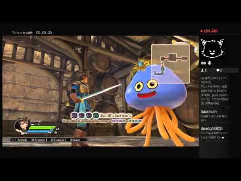 Notre Twitch de Dragon Quest Heroes de Dragon Quest Heroes : Le Crépuscule de l'Arbre du Monde