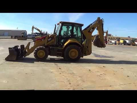 CATERPILLAR CHARGEUSES-PELLETEUSES 420F2IT equipment video pMKCjWL89n8