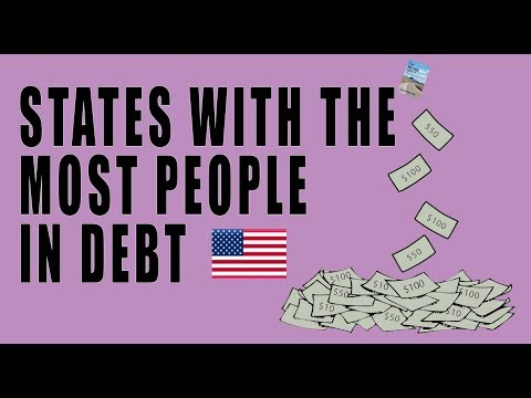 THESE Are the States With the Most People in Debt! Americans Crushed Under STAGGERING Debt!
