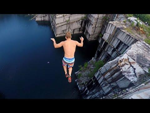 உயிருக்கே உலை வைக்கும் ஆபத்தான சாகசங்கள் !  CLIFF JUMPING Compilation  Most INSANE Cliff Jumps of All Time!