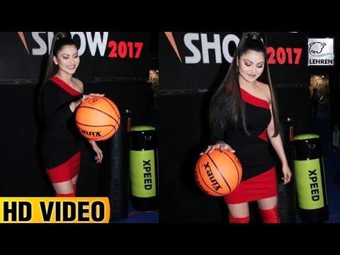 Urvashi Rautela Playing Basketball