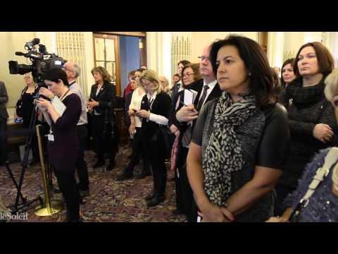 Événement En marche pour la parité - Marois et Charest réunis pour la cause de la parité