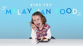 Kids Try Malaysian Food | Kids Try | HiHo Kids