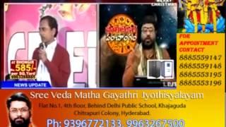 Top politicians horoscopes   Mantha surya narayana sharma