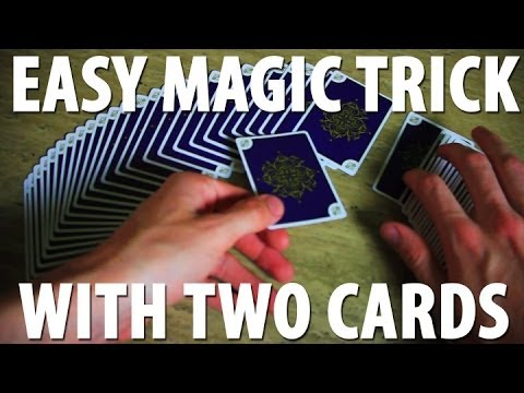 two - It's great to have a go-to card trick that involves two spectators each picking a card. SUBSCRIBE http://bit.ly/1hXH68w Aurum Deck: http://www.52kards.com/st...