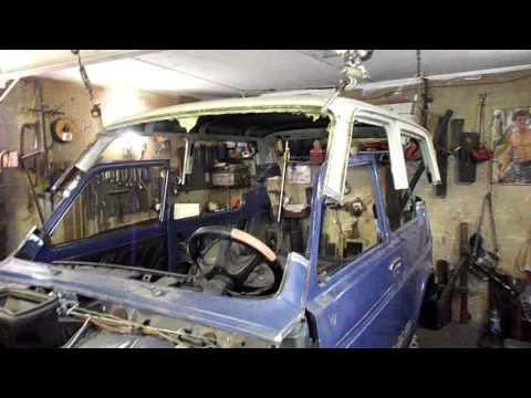 Кузовной ремонт 21213 своими руками 92