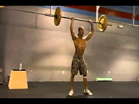 CrossFit 516- Logan does Fran