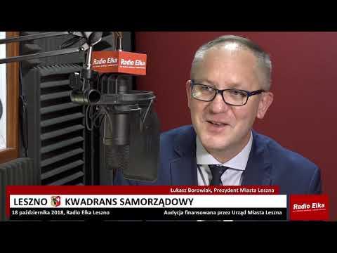 Wideo1: Leszno Kwadrans Samorządowy - Łukasz Borowiak, prezydent Leszna