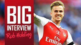 Hear from Arsenal defender Rob Holding on his journey from Bolton to Arsenal, and FA Cup success v Chelsea at Wembley...