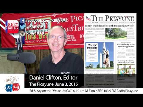 Editor Daniel Clifton unveils new home for 'The Picayune'