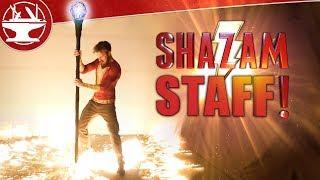 Making a SHAZAM STAFF that DESTROYS ALL!