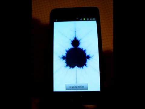 Video of Fractal live wallpaper