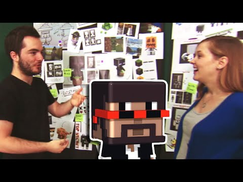 captainsparklez - Mattel makes Barbie and Hot Wheels and stuff so it's kinda cool that they made a Minecraft character for me :0 ○ Merch: http://shop.maker.tv/collections/capt...