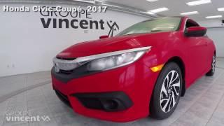Honda Civic Coupé LX 2017 youtube video