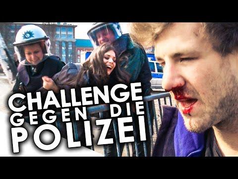 Challenge mit der Polizei - Joyce und Luke leiden