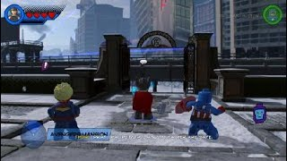 LEGO® MARVEL Super Heroes 2 walkthrough part 6 High Noon Saloon STORY