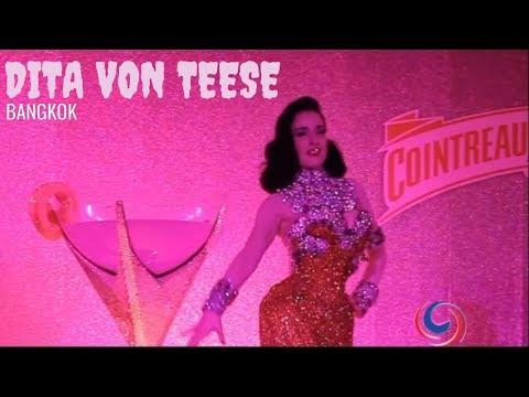 Dita Von Teese - The Queen of Burlesque performs in Bangkok