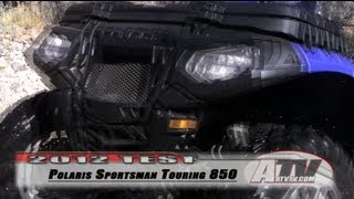 6. ATV Television - 2012 Polaris Sportsman Touring 850 XP Test