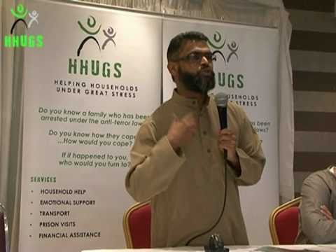 HHUGS: Moazzam Begg Speaking about Shaker Aamer at Ease After Hardship