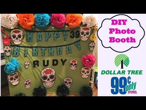Dia de Los Muertos DIY Photo Booth Backdrop | Easy & Affordable